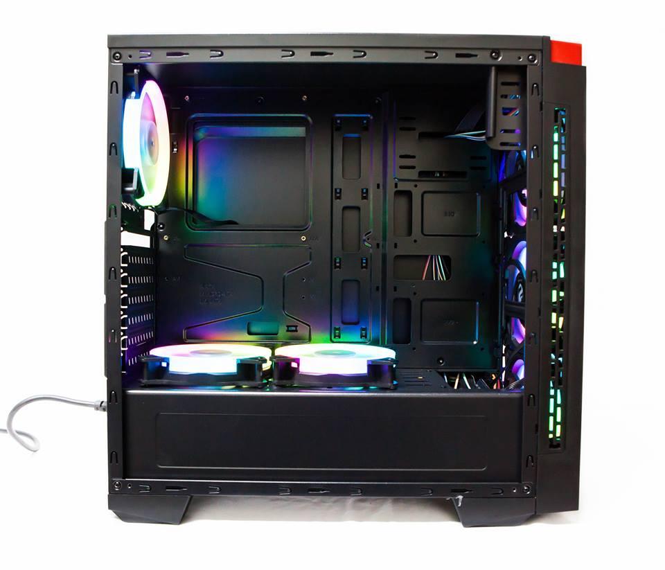 Bộ máy tính cây để bàn Core i5 4TechVP PC382 2019 cấu hình cao, PC máy tính vn lắp ráp, Desktop văn phòng đa năng cấu hình cao Live Stream, chơi game online 24h không bị chậm, không kêu to, nâng cấp, sữa chữa dễ dàng. - Hàng Chính Hãng.