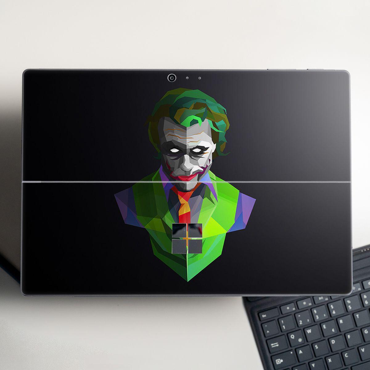 Skin dán hình Joker x03 cho Surface Go, Pro 2, Pro 3, Pro 4, Pro 5, Pro 6, Pro 7, Pro X