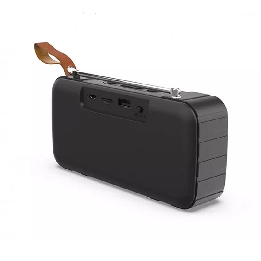 Loa bluetooth stereo KIMISO KMS-303 hỗ trợ FM/AUX/USB/TF - dây đeo tiện dụng (HÀNG NHẬP KHẨU)