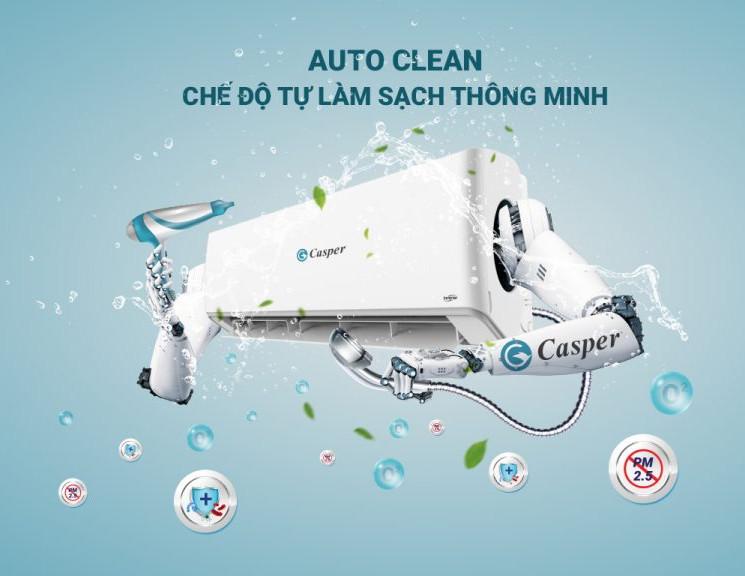 Máy lạnh Casper 1HP SC-09FS32 model 2021 - Hàng chính hãng (chỉ giao HCM)