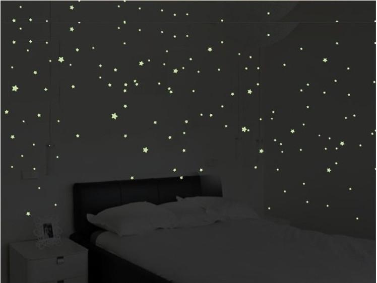 Combo 100 sao dạ quang phát sáng giao màu ngẫu nhiên