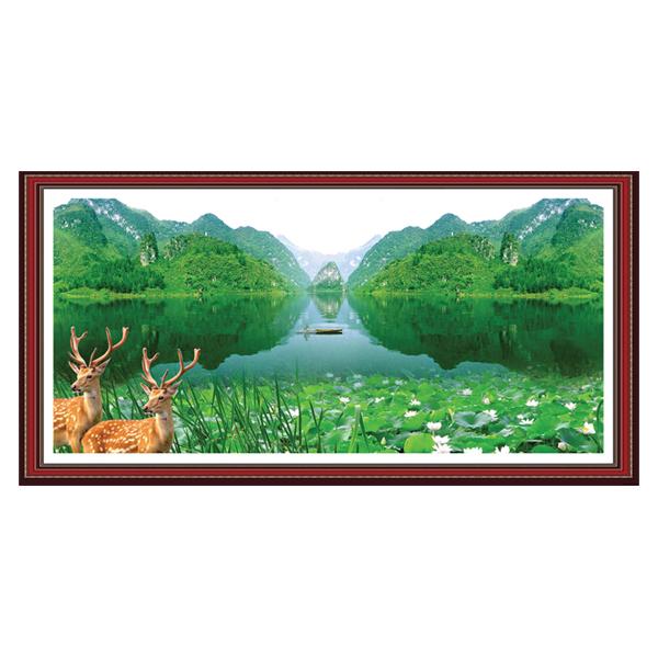 Tranh Treo Phong Thủy Nhà Cửa Q12K-ZTH(164)