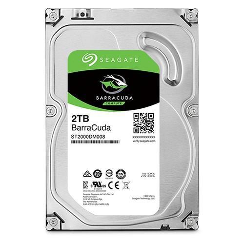 Ổ cứng HDD Seagate BarraCuda 2TB (ST2000DM008) - Hàng Chính Hãng