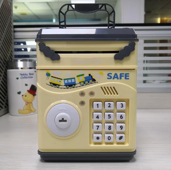 Két sắt mini SAFE cho bé sử dụng mở bằng mật khẩu thông minh, sử dụng pin tiểu AA