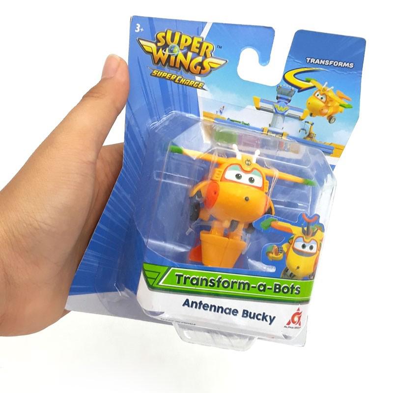 Đồ Chơi SUPERWINGS Đồ Chơi Robot Biến Hình Cỡ Nhỏ Bucky Tí Hon YW740073