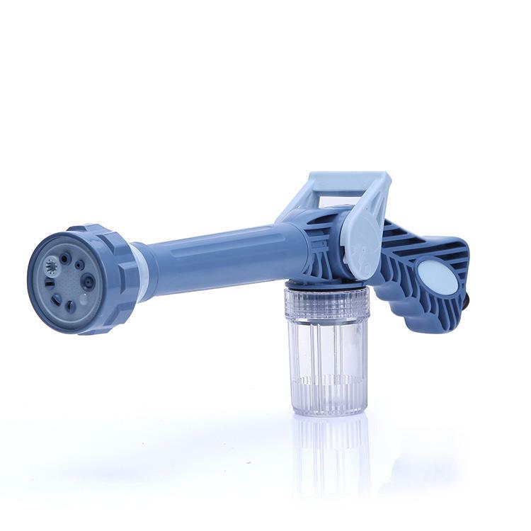 Vòi rửa xe Ez jet 8 chế độ có ngăn xà phòng