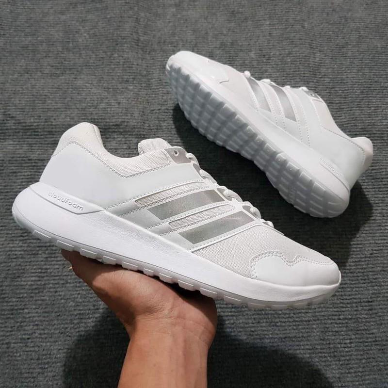 Giày thể thao trắng nam và nữ