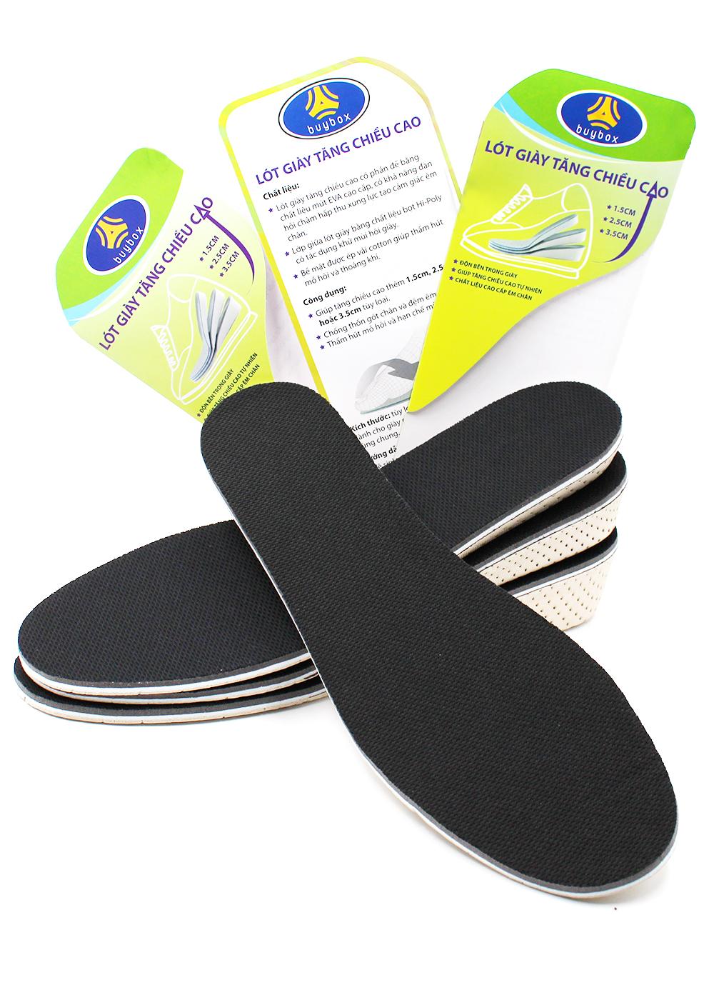 Lót giày tổ ong độn đế tăng chiều cao buybox BBPK57