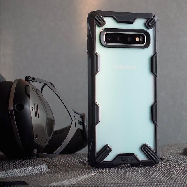 Ốp lưng S10  S10 Plus chính hãng Ringke Fusion X - Samsung S10