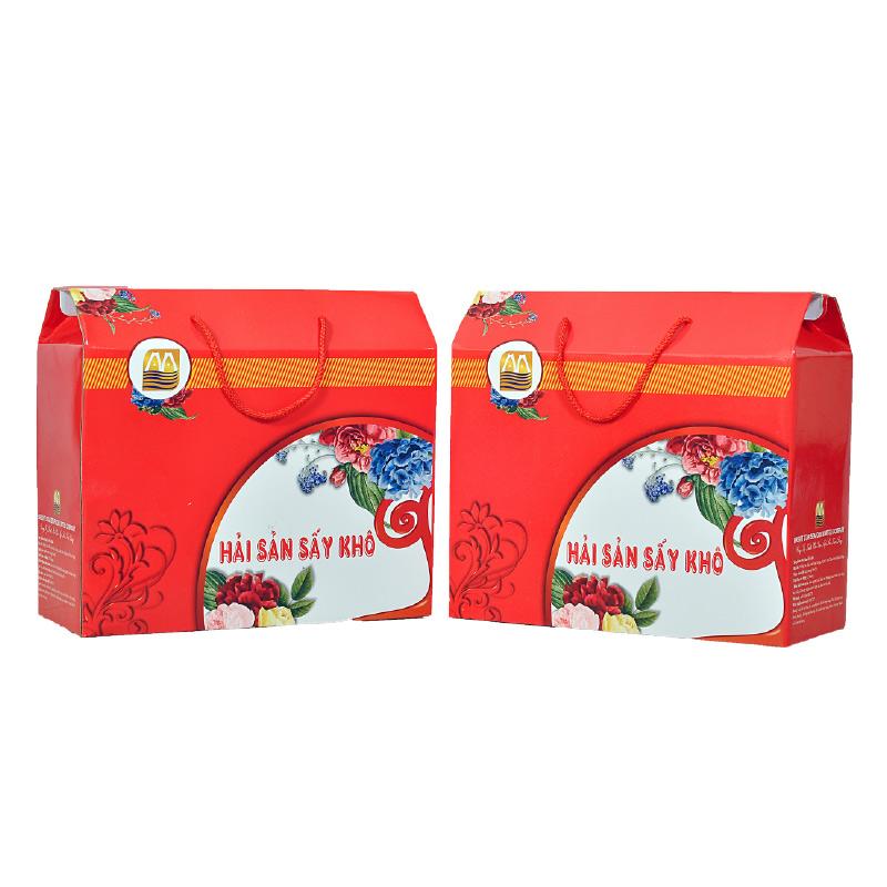 Hộp quà tết 2020 - Hải sản sấy khô 03 Tôm thẻ PD sấy khô - Tôm khô