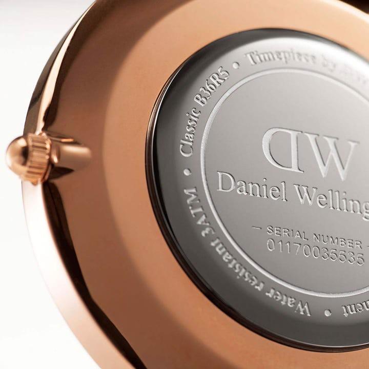 Daniel Wellington Classic Dover Rose White 36mm DW00100309