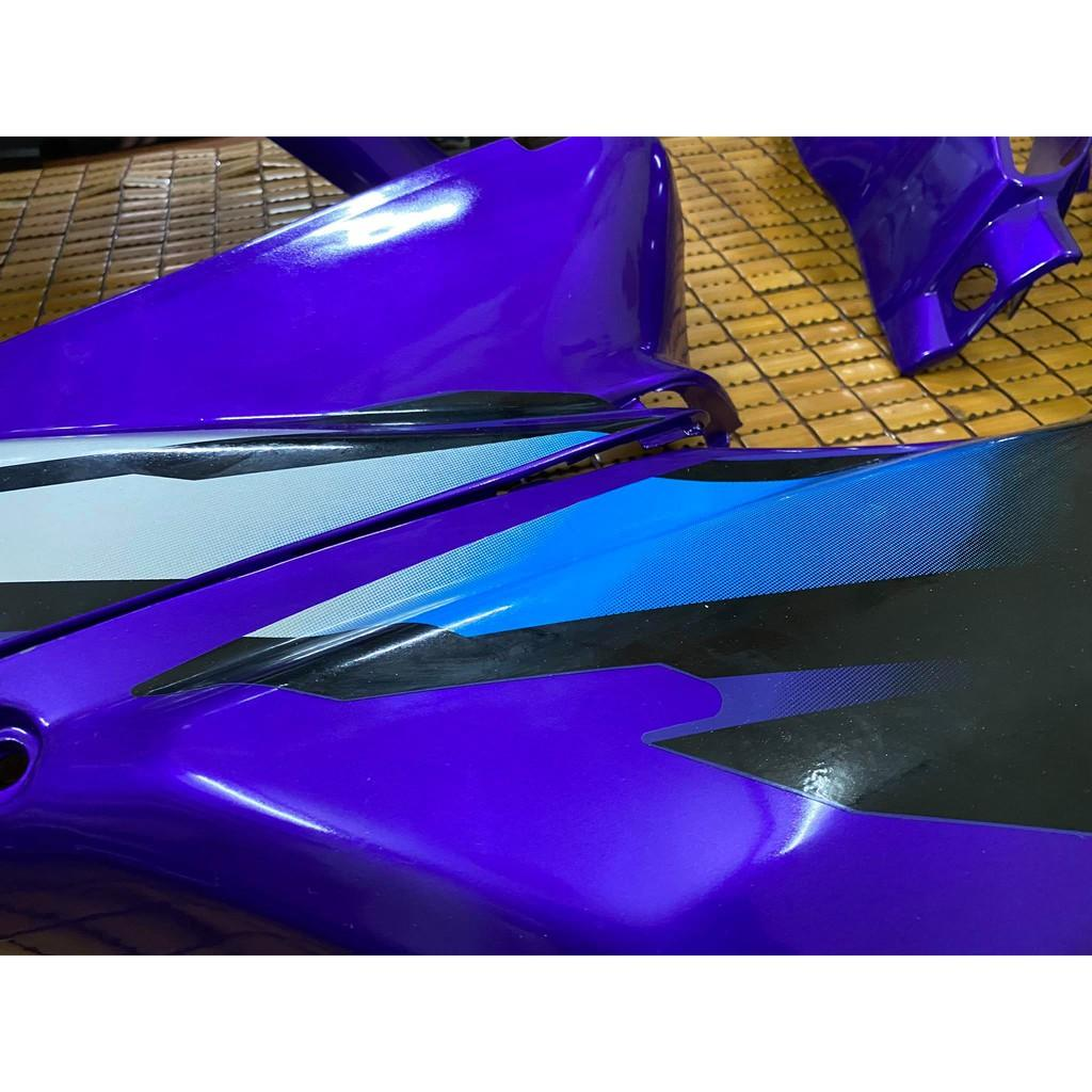 Dàn áo dành cho Honda Wave nhỏ loại 1 màu Tím Zx