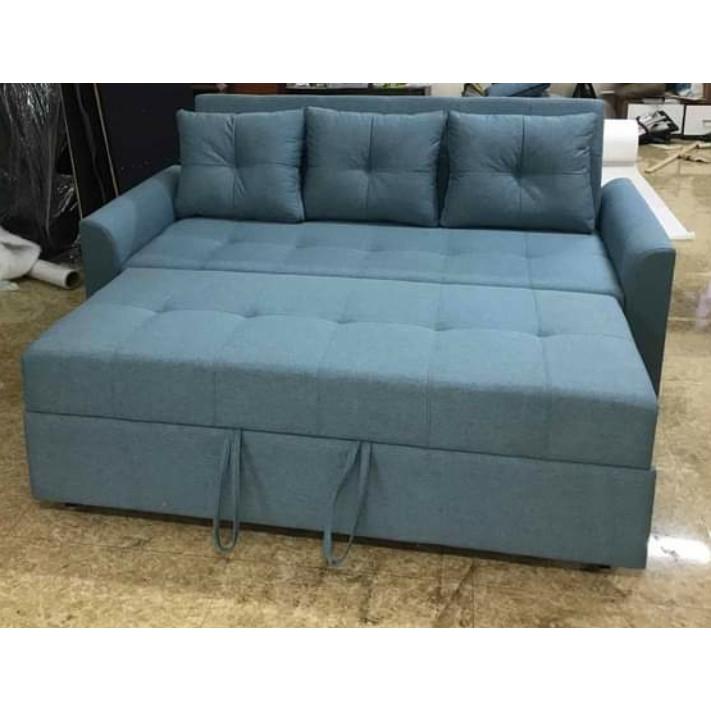 Ghế sofa giường kéo 1m9 x 90 , Giường lọt lòng 1m6 x 1m9 Juno Sofa chất lượng