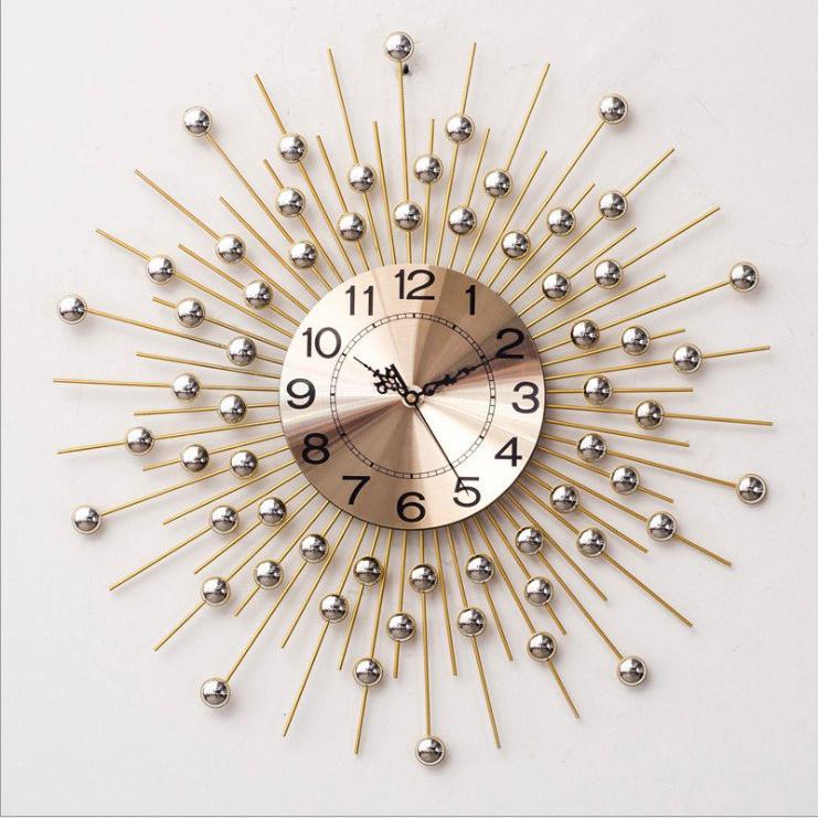 Đồng hồ treo tường trang trí nghệ thuật họa tiết Dấu Mưa C-600