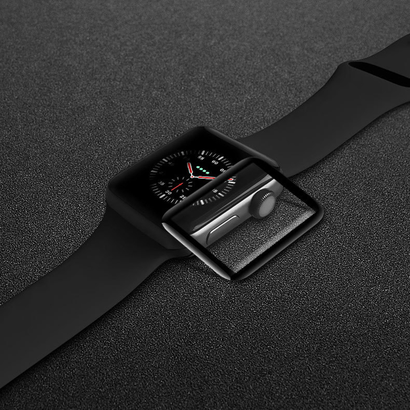 Miếng Dán Cường Lực Vmax Cho Apple iWatch / Apple Watch 40 mm Full keo - Hàng Chính Hãng