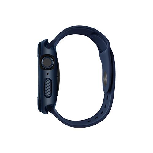 Ốp Case và Kính Cường Lực 9H Chống Khuẩn UNIQ Torres Antimicrobial cho Apple Watch Size 40/ 44mm_ Hàng Chính Hãng