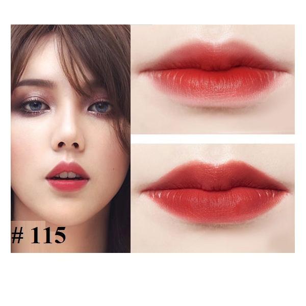 Son lỳ môi dưỡng mềm mịn môi không chì Dabo Real Rouge Matte Hàn Quốc ( 3g)- HÀNG CHÍNH HÃNG