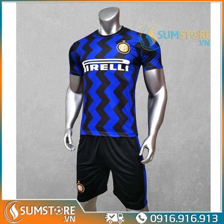 Áo thể thao bóng đá CLB Inter Milan - Đồ đá banh 2020