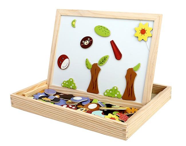 Bộ tranh ghép hình bằng gỗ cho bé 1