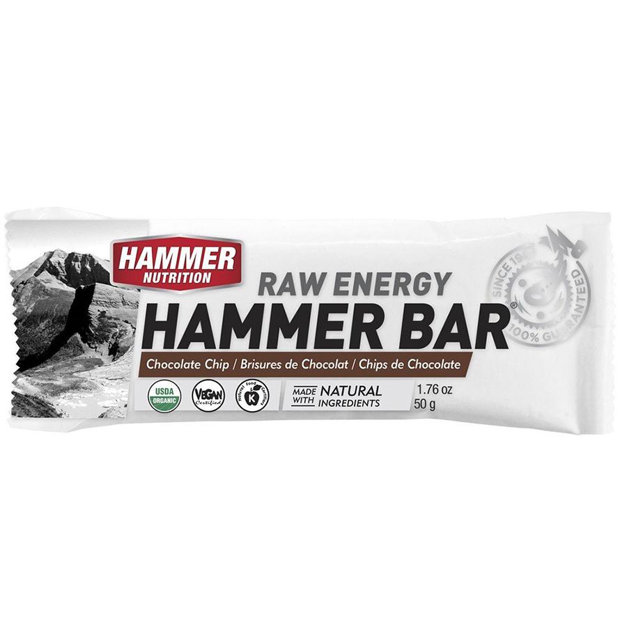 Thanh bổ sung năng lượng - Hammer Nutrition Energy Raw - Socola - Dừa - 12 thanh