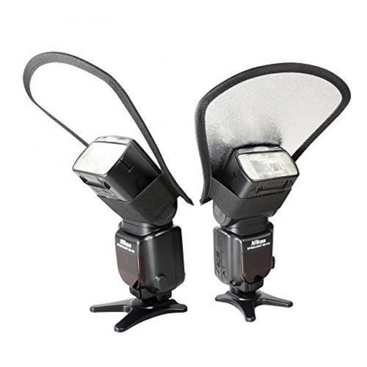2 mặt của tản sáng đèn flash