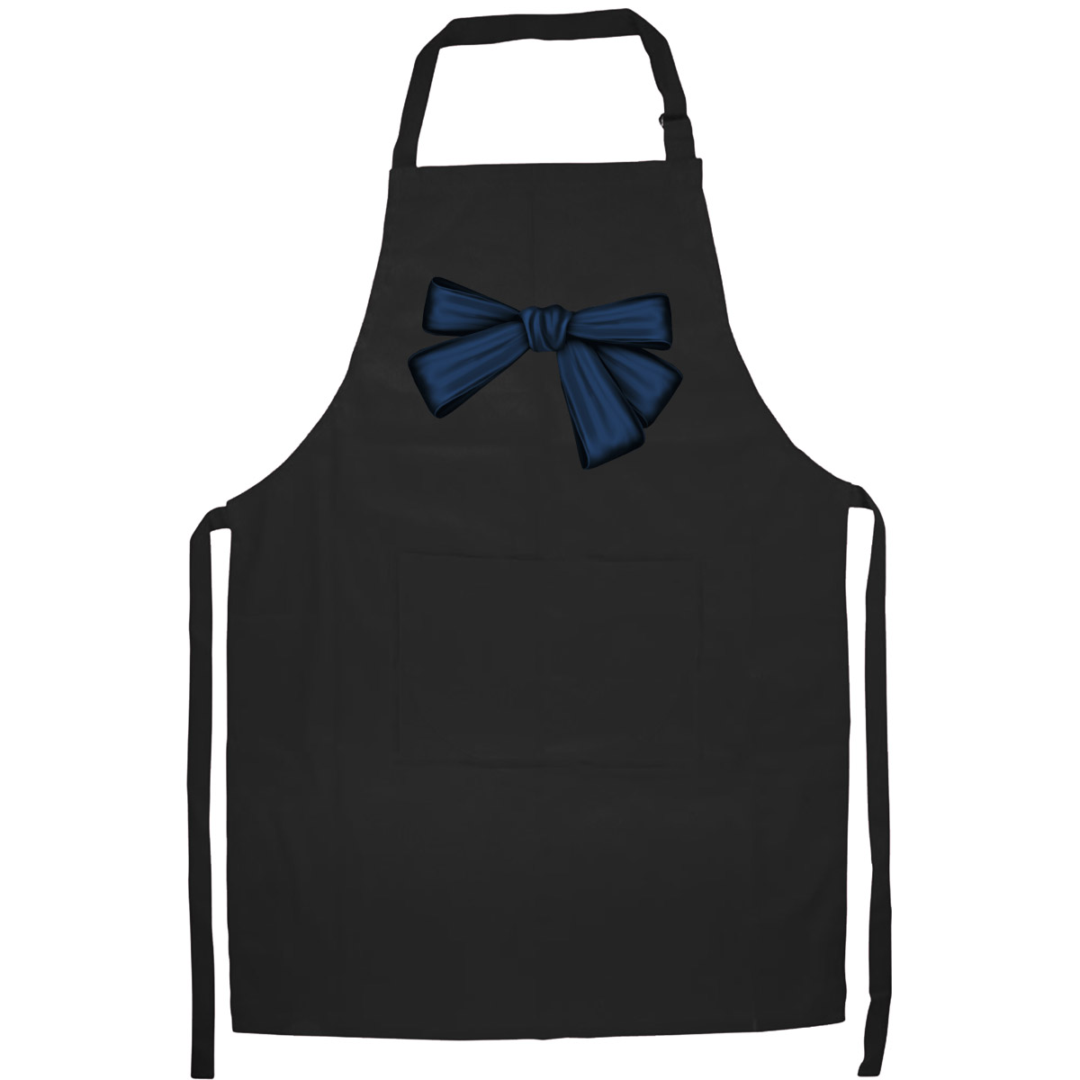 Tạp Dề Làm Bếp In Hình Những Chiếc Nơ Xinh - Mẫu011