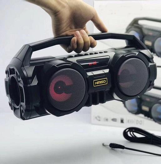 Loa Buetooth KM-S1 Super Bass KÈM Mic karaoke trị giá 150k