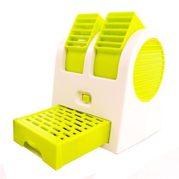 Quạt mini làm mát bằng hơi nước 2 cửa tặng kèm quạt mini usb để bàn
