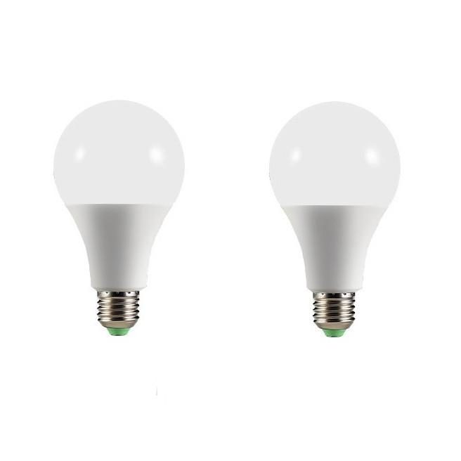 Bộ 2 bóng đèn led búp 12w siêu sáng hàng chính hãng.