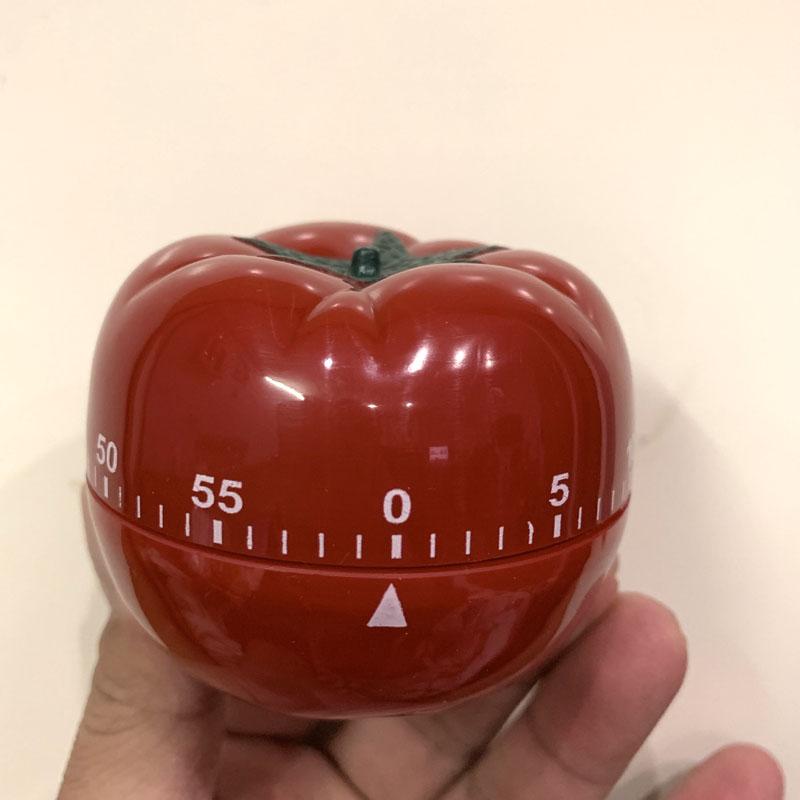 Đồng hồ làm việc Pomodoro (Màu Đỏ)