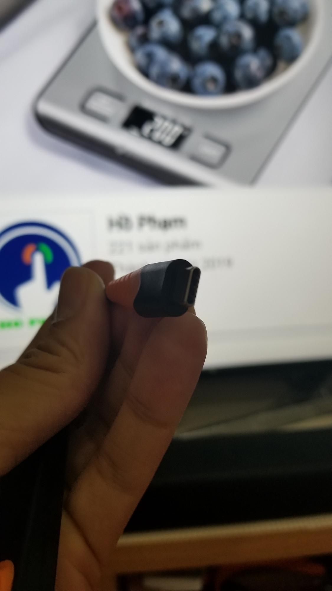Cáp chuyển USB Type-C ra RJ45/ Ethernet tốc độ 1000Mbps
