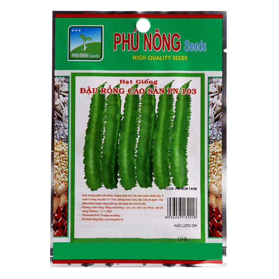 Bộ 2 Gói Hạt Giống Đậu Rồng Phú Nông (10g / Gói)