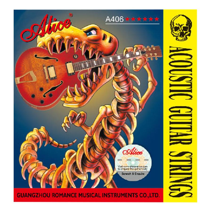 Combo 3 Bộ Dây Dàn Guitar Acoustic Alice A406P