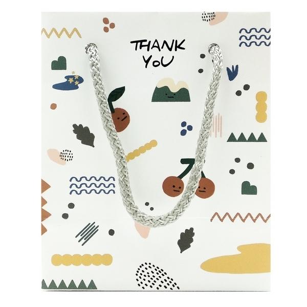 Túi Giấy Mini Pattern - Morning Glory 62505-83046 - Mẫu 2 - Màu Trắng