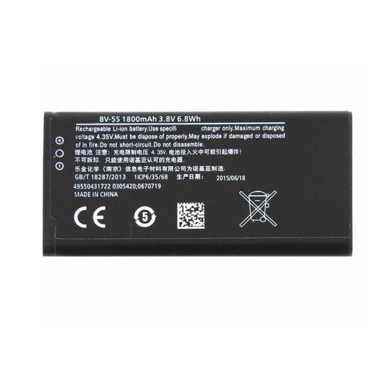 Pin dành cho điện thoại Nokia Lumia X2 BV-5S 1800mAh