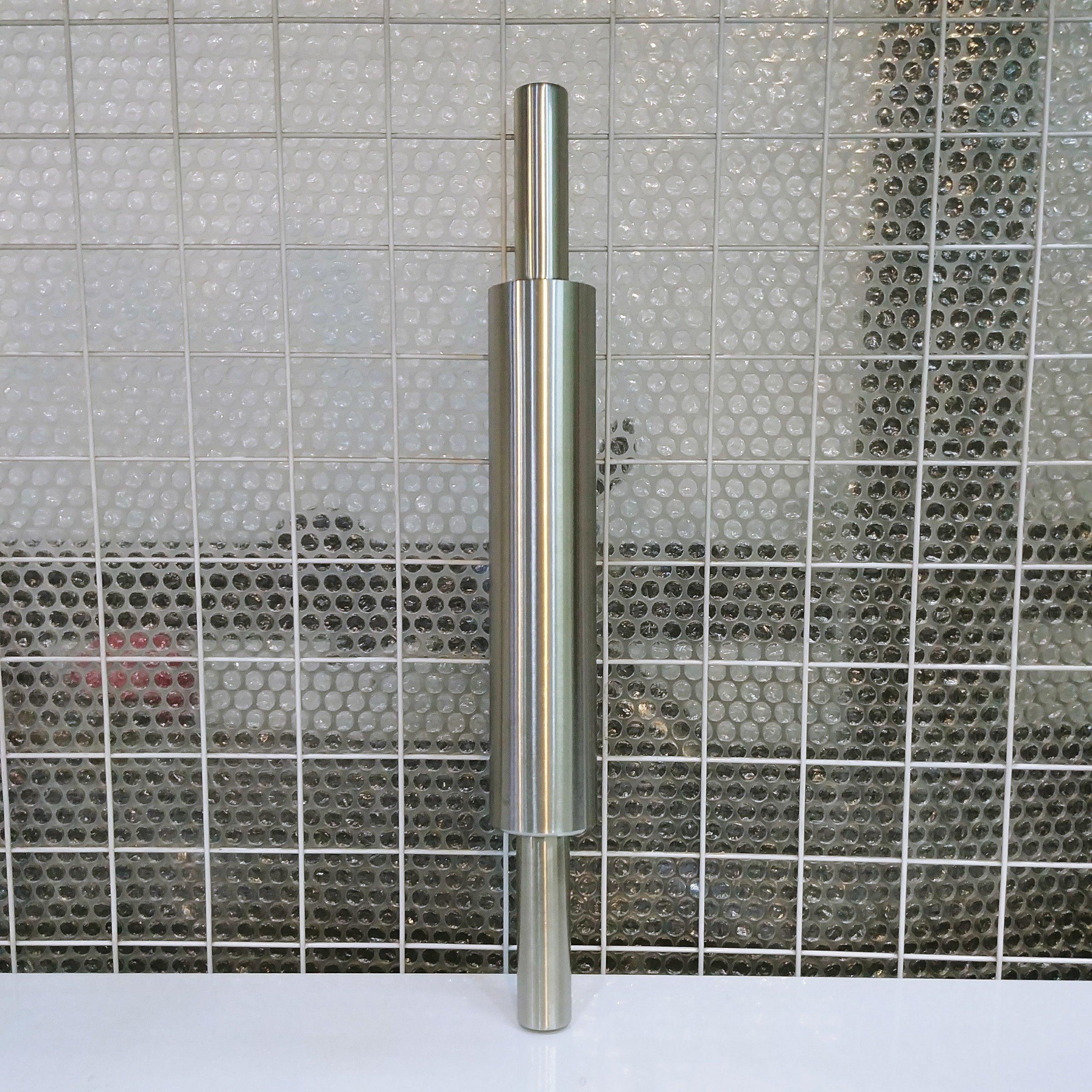 Cán bột inox có trục xoay dài 43cm
