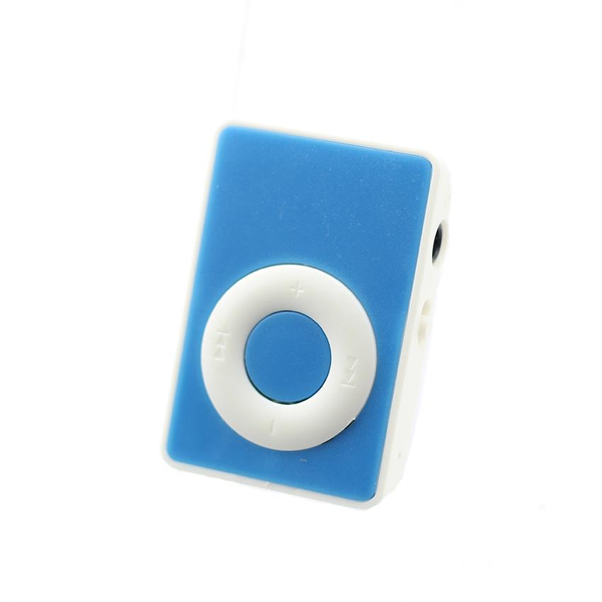 Máy nghe nhạc mp3 chữ O đơn sắc kẹp gắn quần áo tặng tai nghe và dây sạc