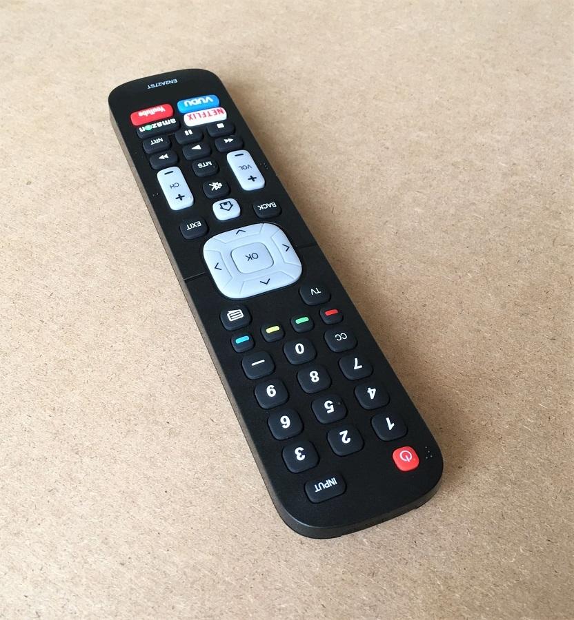 Remote Điều Khiển Dành Cho Smart TV, Internet TV, TV Thông Minh SHARP EN2A27ST (Kèm Pin AAA Maxell)