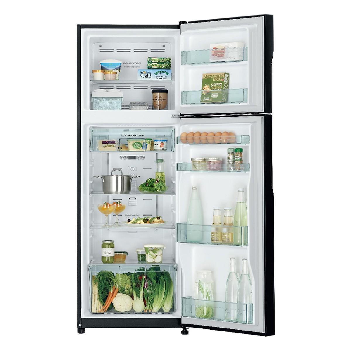Tủ Lạnh Inverter Hitachi R-H310PGV7-BSL (260L) - Hàng Chính Hãng + Tặng Bình Đun Siêu Tốc