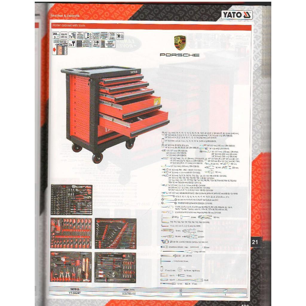 Tủ đựng đồ nghề cao cấp 6 ngăn YT-55299