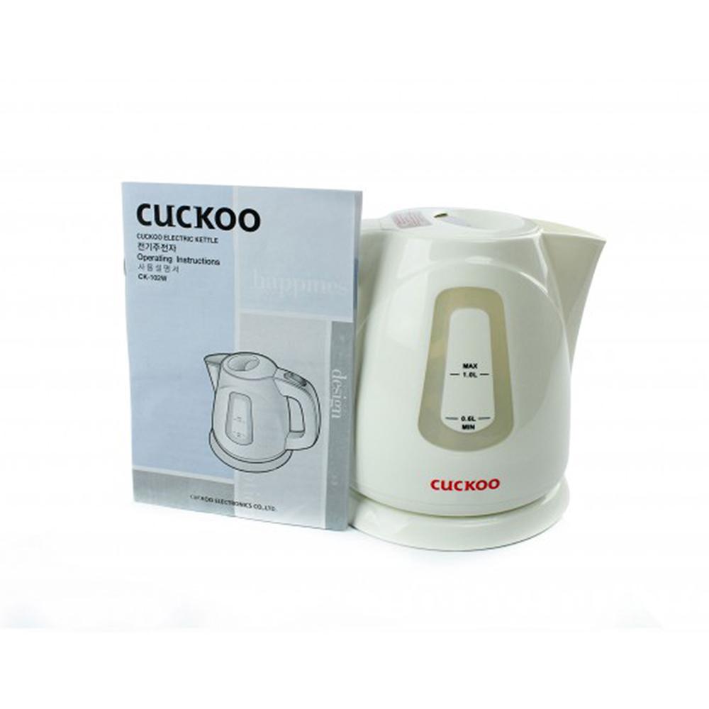 Âm đun nước siêu tốc CK-102W Cuckoo - HÀNG CHÍNH HÃNG