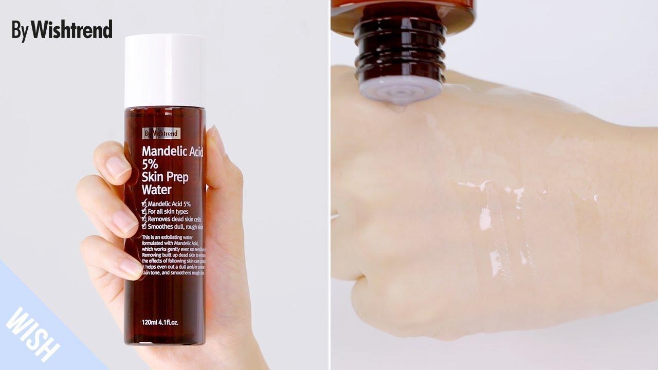 Tẩy Da Chết By Wishtrend Mandelic Acid 5% Skin Prep Water 120ml