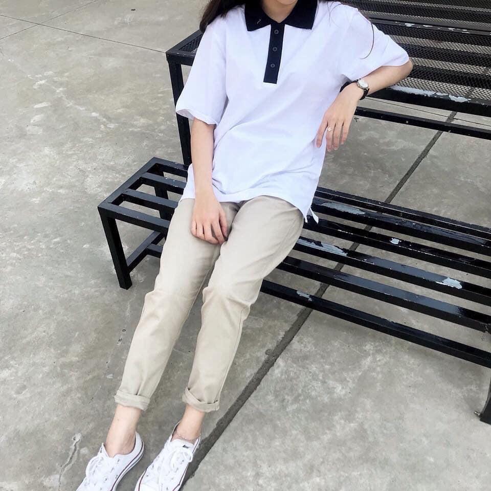 Quần Kaki Cho Nữ, Kiểu Dáng Dài Ống Suông, Form Free size Phù Hợp Nữ Dưới 60kg, 2 Dễ Lựa Chọn, Hàng Chất Lượng