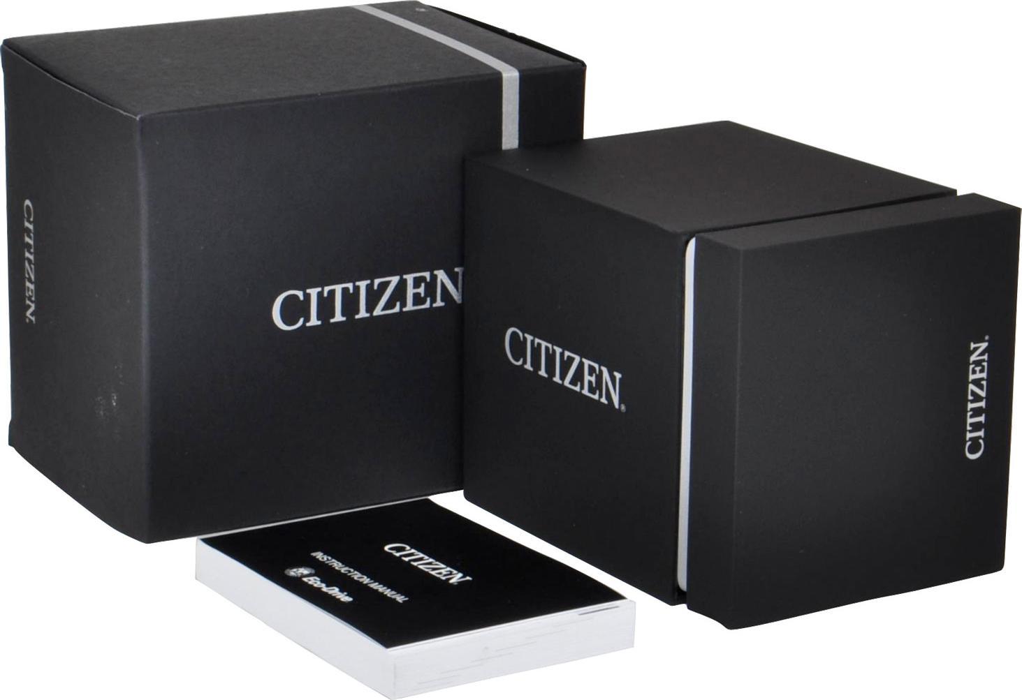 Đồng Hồ Citizen AW5005-12X Nam Dây Vải Eco-Drive 43mm