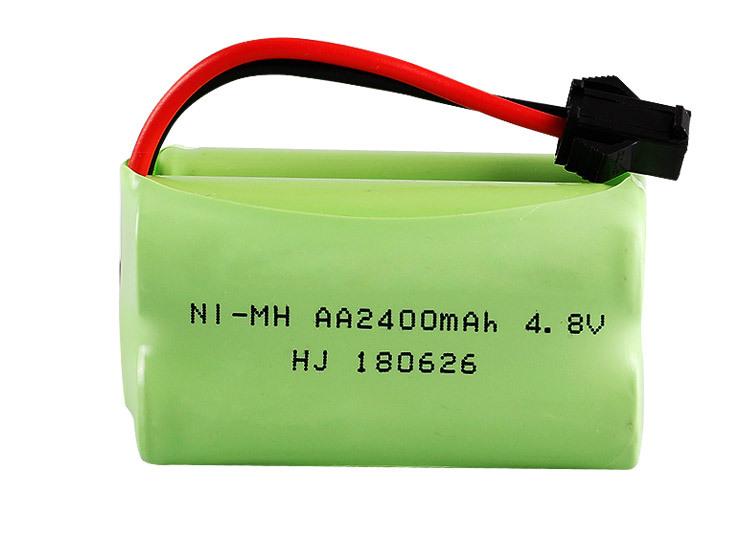 Pin Sạc 4.8V 2400mah Dung Lượng Cao Cho Xe Ô tô - Tàu Thủy Điều Khiển ( Giắc SM )