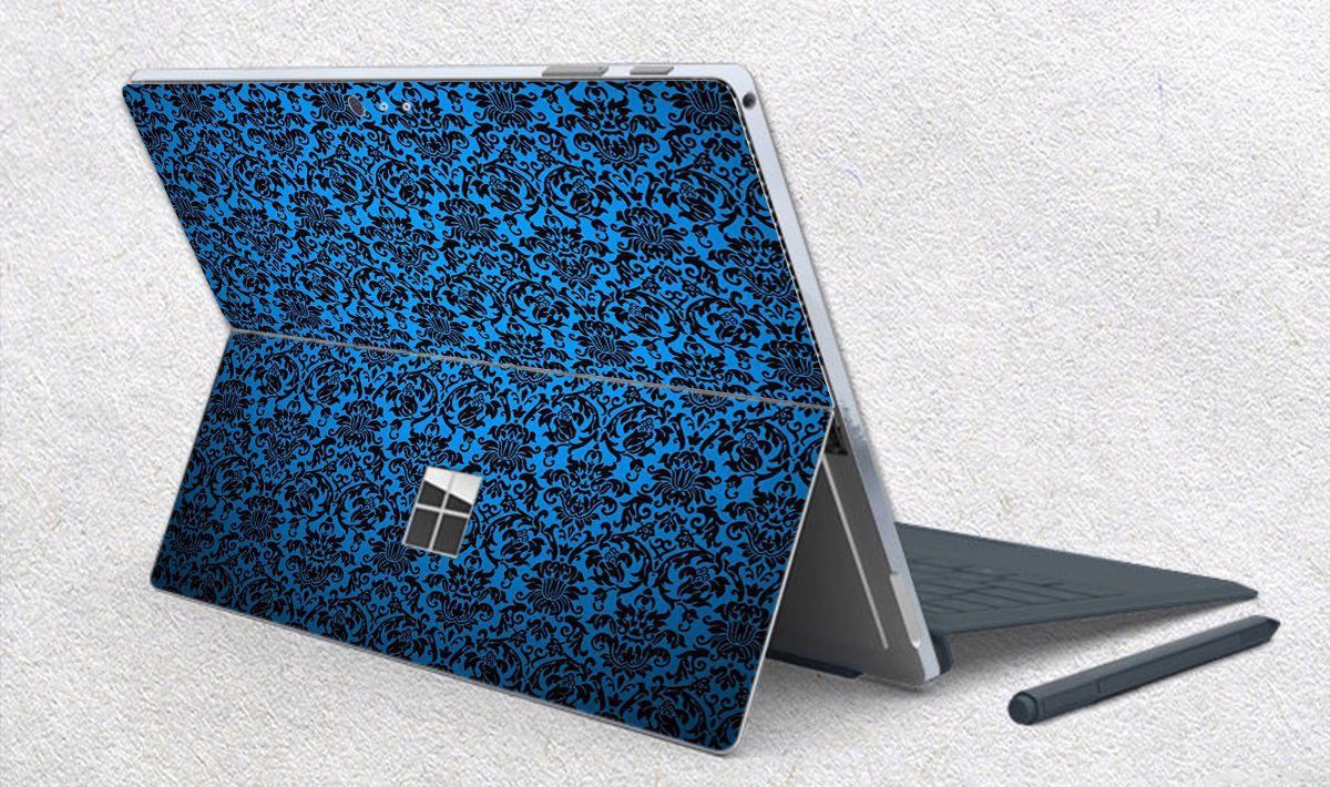 Skin dán hình Hoa văn sticker x02 cho Surface Go, Pro 2, Pro 3, Pro 4, Pro 5, Pro 6, Pro 7, Pro X