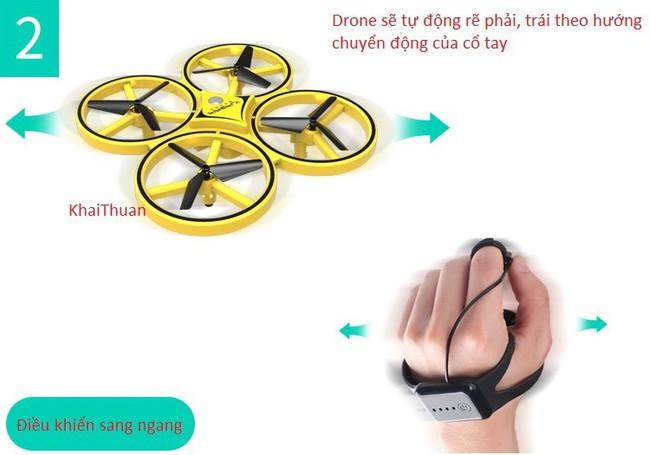 Trực Thăng Điều Khiển Từ Xa Con Đom Đóm UAV Firefly Drone 8