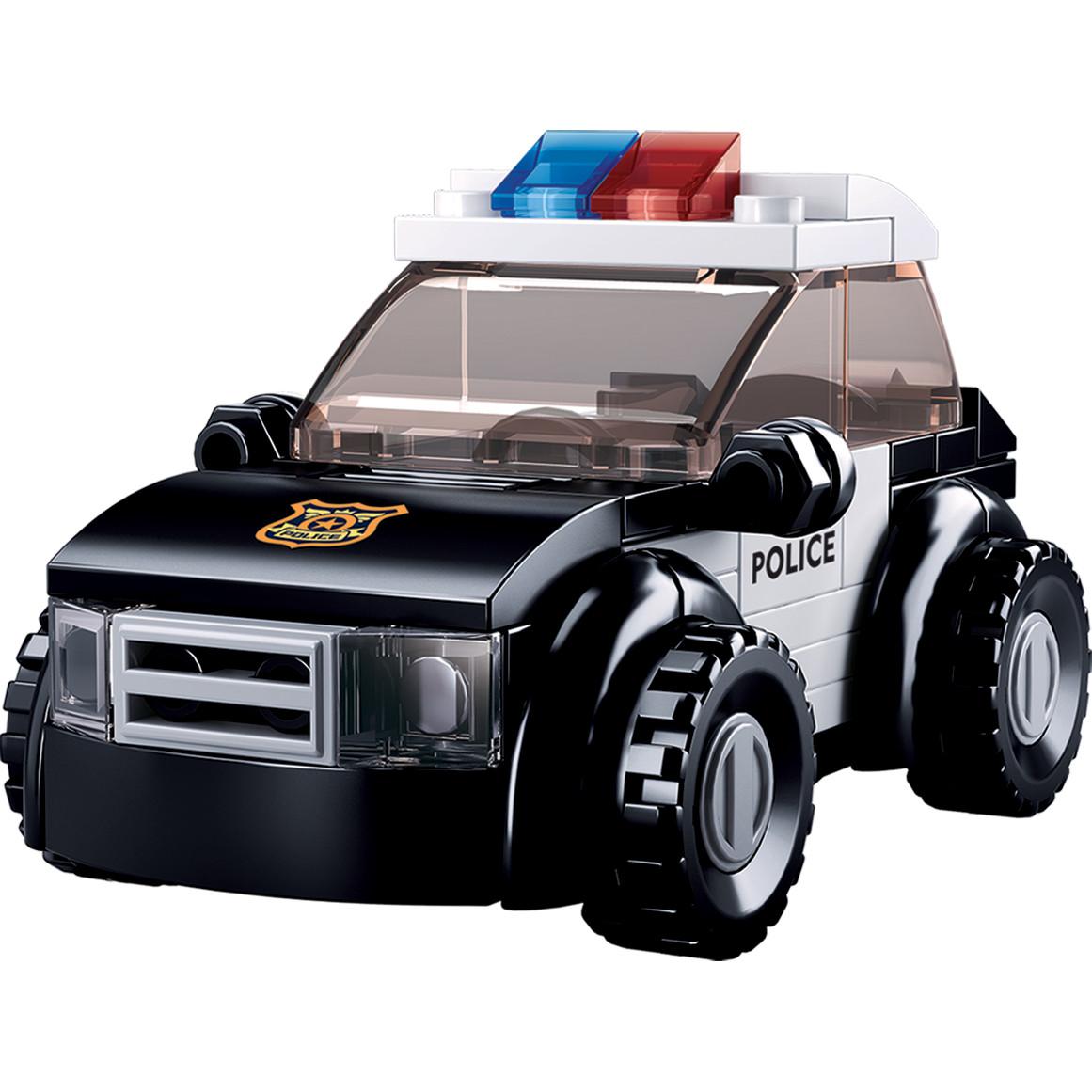 Đồ chơi lắp ráp xe cảnh sát hình sự TINITOY (88 pcs) YY686836