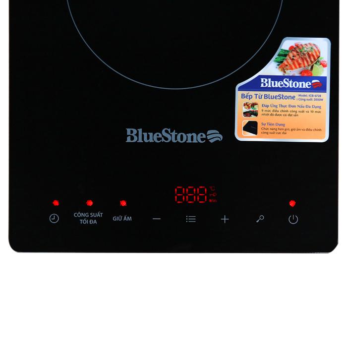 Bếp Điện Từ Đơn Bluestone ICB-6728 (2000W) - Tặng Kèm Nồi Lẩu - Hàng chính hãng