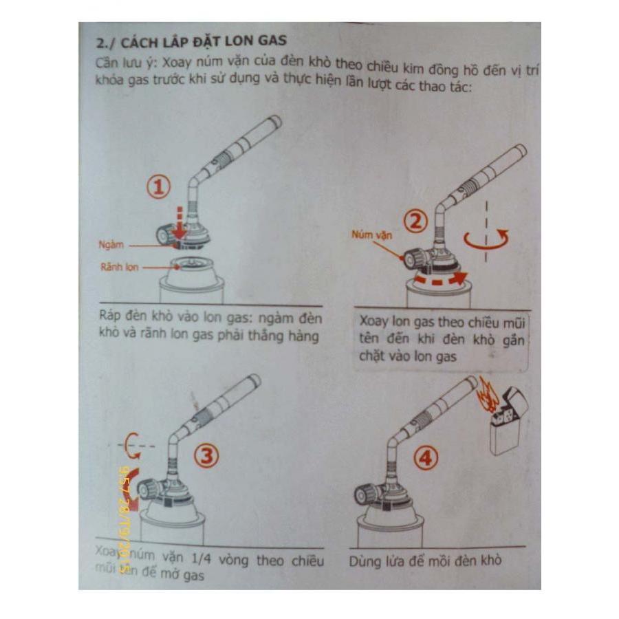 Đèn khò gas , đèn khò hàn chuyên dụng